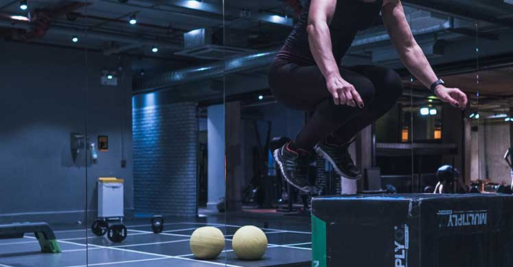 Gymbox is for strength and endurance